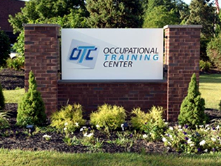 Occupational Training Center in Burlington, NJ Front Sign