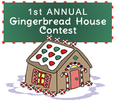 Clipart of a Gingerbread House