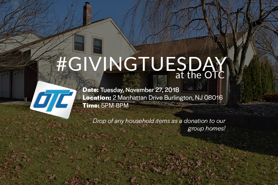 Giving Tuesday at the OTC Group Homes